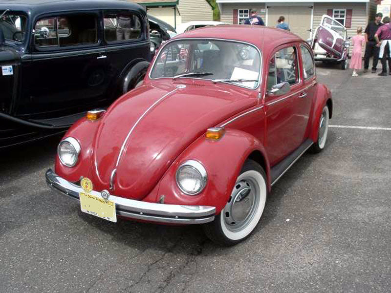 Red 1970 Volkswagen