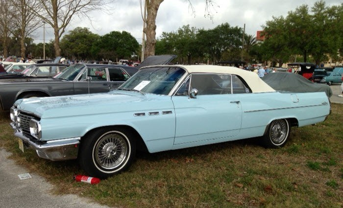 Baby blue colored 1963 Buick LeSabre