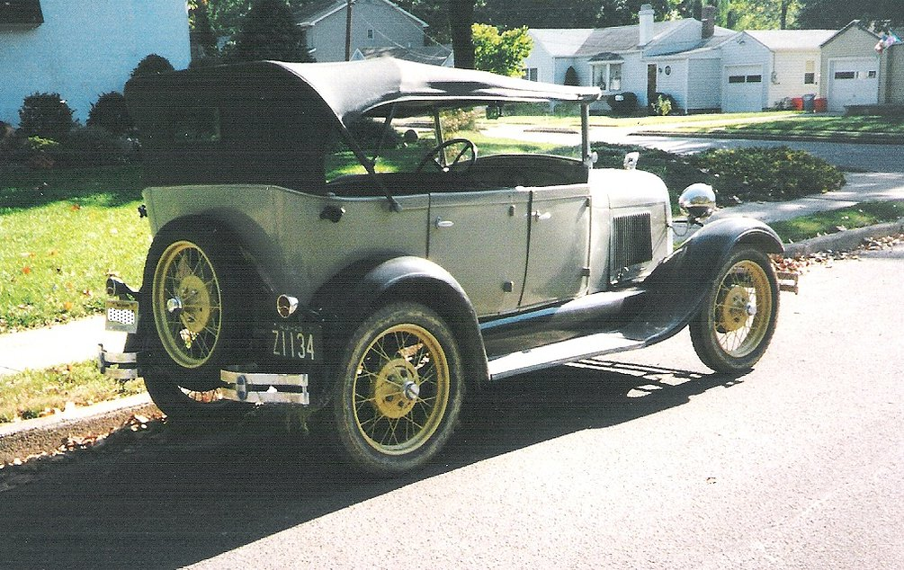 1929 Ford Model A 4 Door Phaeton