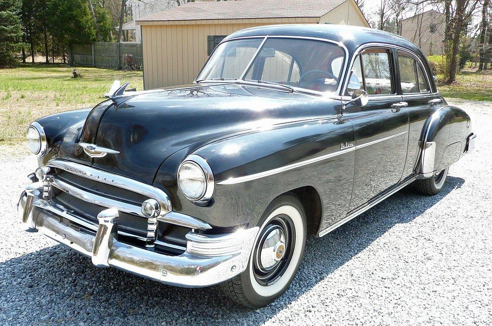 Black 1950 Chevrolet