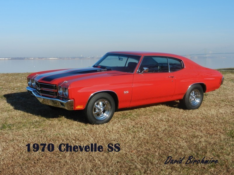 Red 1970 Chevelle SS