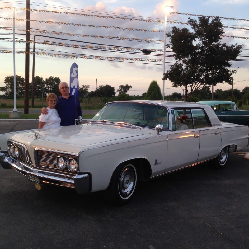 White 1964 Chrysler Imperial