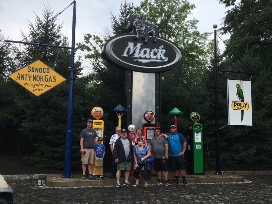2018 August Mahan Mack Truck Open House