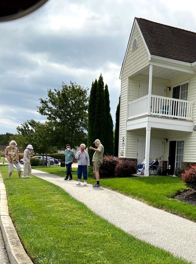 Friends Village Drive By September 2020