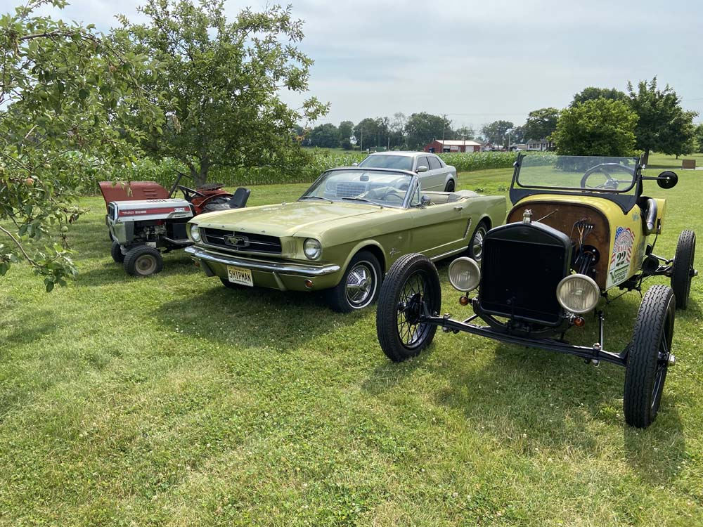 Cars & Coffee at Fuller Home June 19, 2021